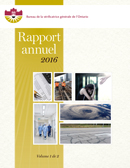Rapport annuel 2016 volume 1