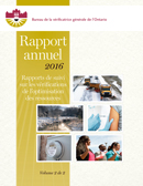 Rapport annuel 2016 volume 2