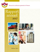 Rapport annuel 2017 volume 1