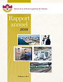Rapport annuel 2018 volume 1
