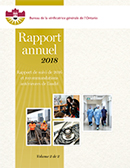 Rapport annuel 2018 volume 2