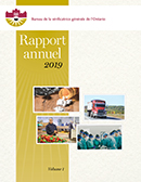 Rapport annuel 2019 volume 1