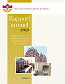 Rapport annuel 2019 volume 3