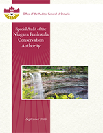 Special Audit of the Niagara Peninsula Conservation Authority
