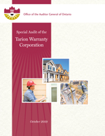 Special Audit of the Tarion Warranty Corporation