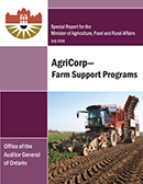 Special Report on AgriCorp—Farm Support Programs