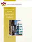 Value-for-Money Audit: Reducing Greenhouse Gas Emissions from Energy Use in Buildings
